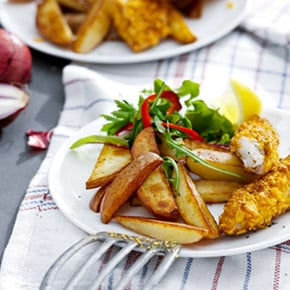 Philips airfryer recipes philips for Air fryer fish and chips