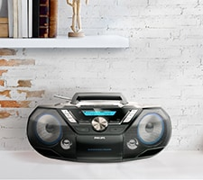 Philips CD players, boombox
