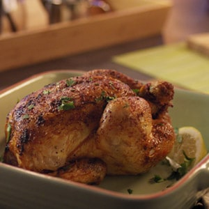 Honey & Lemon roasted chicken